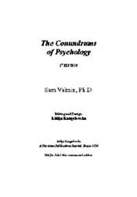 The Conundrums of Psychology by Sam Vaknin