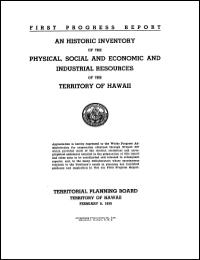 An Historic Inventory of the Physical, S... by Territorial Planning Board
