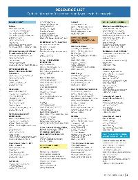 Resource List from Hawaii Business by Hawaii Business Magazine