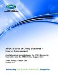 Apec's Ease of Doing Business-Interim As... by Carlos Kuriyama and Azul Ogazón