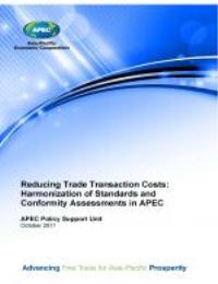 Reducing Trade Transaction Costs: Harmon... by Graeme Drake