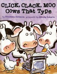 Click, Clack, Moo: Cows That Type : Pref... by Doreen Cronin