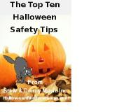 The Top Ten Halloween Safety Tips Volume 1 by Stew and Donny Music, Inc.