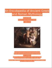 An Encyclopedia of Ancient Greek and Rom... by James Hampton Belton