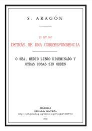 Lo Que Hay Detrás de una Correspondencia by Sergio Aragón