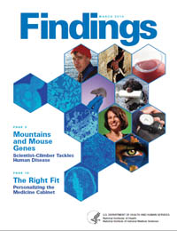 Findings Magazine: March 2010 Volume March 2010 by National Institute of General Medical Sciences