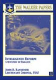 Intelligence Reform : A Question of Bala... by John D. Bansemer