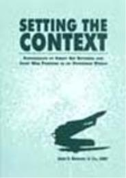 Setting the Context : Suppression of Ene... by James R. Brungess