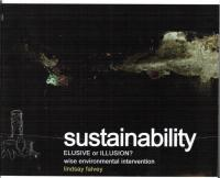 Sustainability: Elusive or Illusory? Wis... by Lindsay Falvey