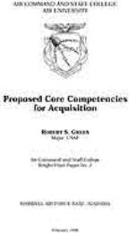 Wright Flyer Paper : Proposed Core Compe... Volume 2 by Robert S. Green
