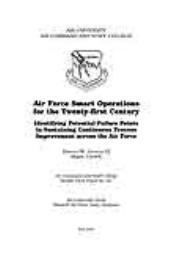 Wright Flyer Paper : Air Force Smart Ope... Volume 33 by Maj Harold W. Linnean, III, USAFR