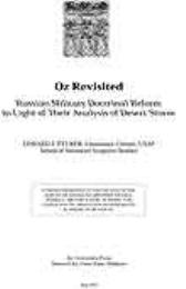Oz Revisited : Russian Military Doctrina... by Lieutenant Colonel Edward J. Felker, USAF