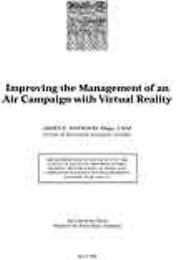 Improving the Management of an Air Campa... by Major James E. Haywood, USAF
