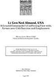Lieutenant General Ned Almond, USAA Grou... by Major Michael Lewis, USAF