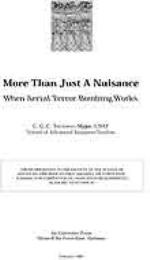 More than Just a Nuisance : When Aerial ... by Major C. G. C. Treadway, USAF