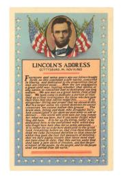 The Gettysburg Address by Lincoln, Abraham