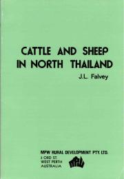 Cattle and Sheep in North Thailand by Falvey, Lindsay, Dr.