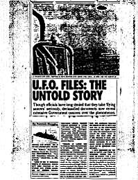U.F.O. Files : The Untold Story by Huyghe, Patrick