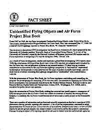 Unidentified Flying Objects and Air Forc... by United States Air Force