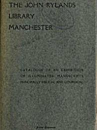 The John Rylands Library Manchester : Ca... by Guppy, Henry