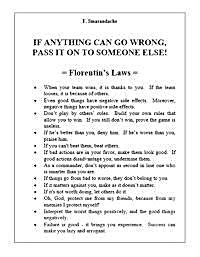 Florentin's Laws : If Anything Can Go Wr... by Smarandache, Florentin