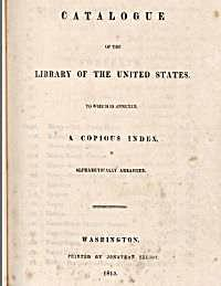 Catalogue of the Library of the United S... by Various