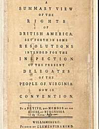 A Summary of the Rights of British Ameri... by Jefferson, Thomas