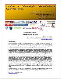 La Pedagogía Ciminológica como política ... Volume X, January-July 2013 by García, Agustín, Salgado, Dr.