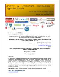 Avanzando hacia el reconocimiento social... Volume XI, August-December 2013 by Bolaños, Juan José , Martínez, Dr.