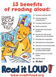 13 Benefits of Reading Aloud by Amos, Wally