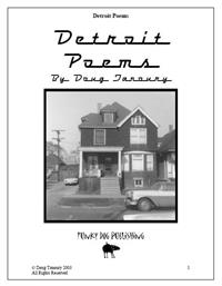 Detroit Poems by Tanoury, Douglas, G