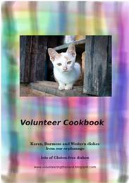 Volunteer Cookbook : Karen, Burmese and ... by Roper, Sabine, Elisabeth, Dr.