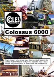 Coles Colossus 6000 Mobile Crane : A ser... by Kemp, Anthony, James