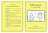 PGBP Summary : For Taxation Students by Kikani, Pratik, Kaushikkumar