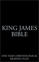 King James Bible, One Year Chronological... by Various Authors