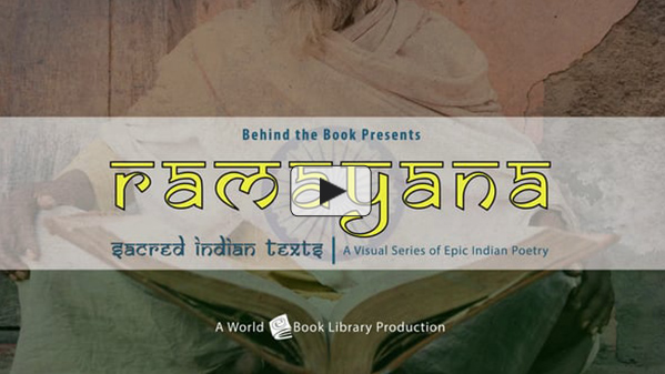 Ramayana, Sacred Indian Texts - A Visual... by Behind the Book