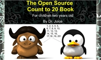 The Open Source Count to 20 Book : For C... by Juice, Dr.