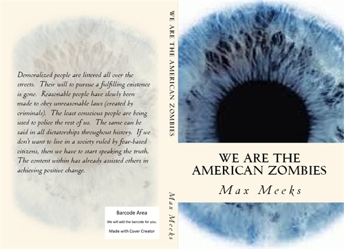 We are the American Zombies Volume 1 by Meeks, Max