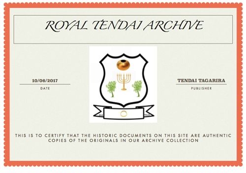 Rhodesialeaks : Financial History of Eco... Volume 1 by Archive, Royal , Tendai