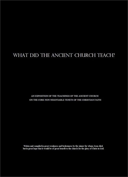 What did the Ancient Church Teach? : An ... by Bruneau, Pierre, Michel