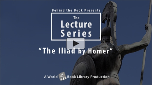 The Iliad by Homer : The Behind the Book... by the Book, Behind