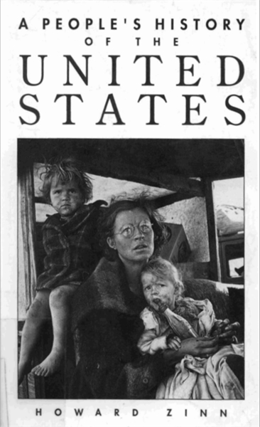 A Peopleʻs History of the United States by Zinn, Howard