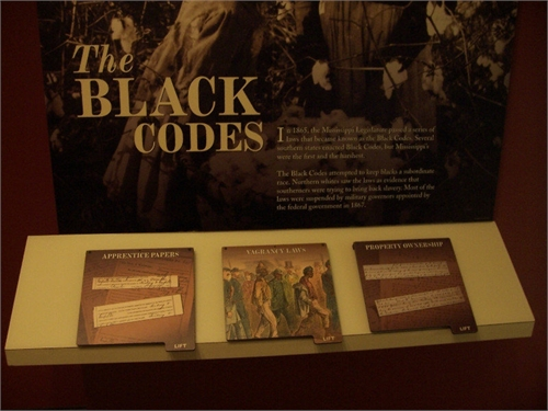 Mississippi Black Codes by State of Mississippi, Mississippi Legislature