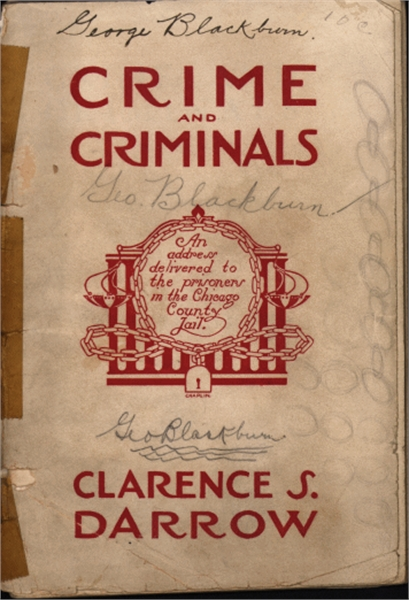 Crime and Criminals : Address to the Pri... by Darrow, Clarence