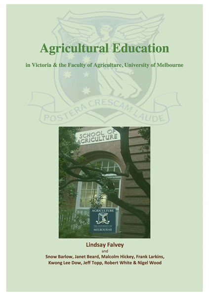 Agricultural Education by Falvey, Lindsay, Dr.