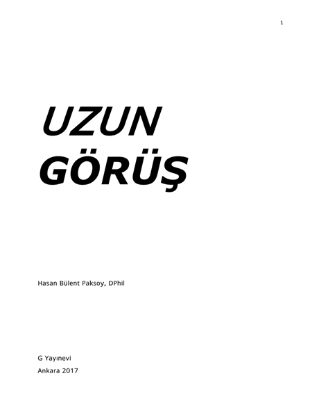 Uzun Gorus by Paksoy, HB, Ph.D.