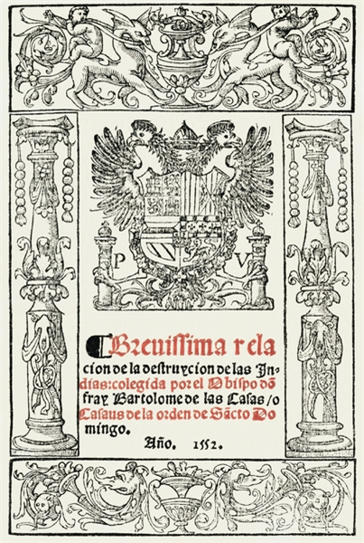 Brief Account of the Devastation of the ... by Casas, Bartoleme  , de Las