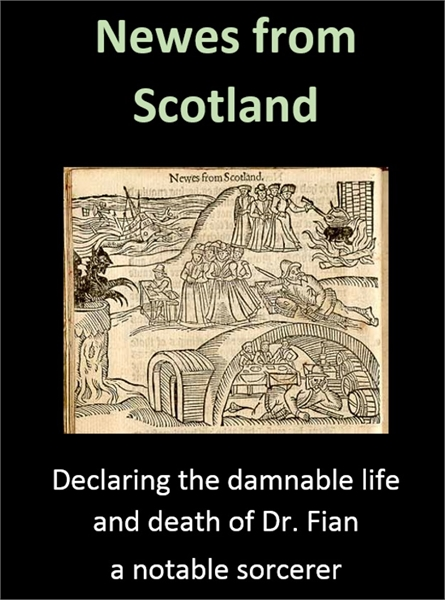 Newes from Scotland : A true discourse, ... by Carmichael, James