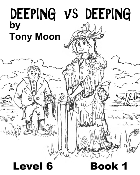 Deeping vs Deeping : A short story for t... Volume Level 6 Book 1 by Moon, Tony, J