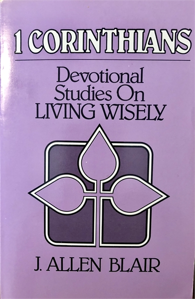 1 Corinthians : Devotional Studies on Li... by Blair, J. Allen, Dr.